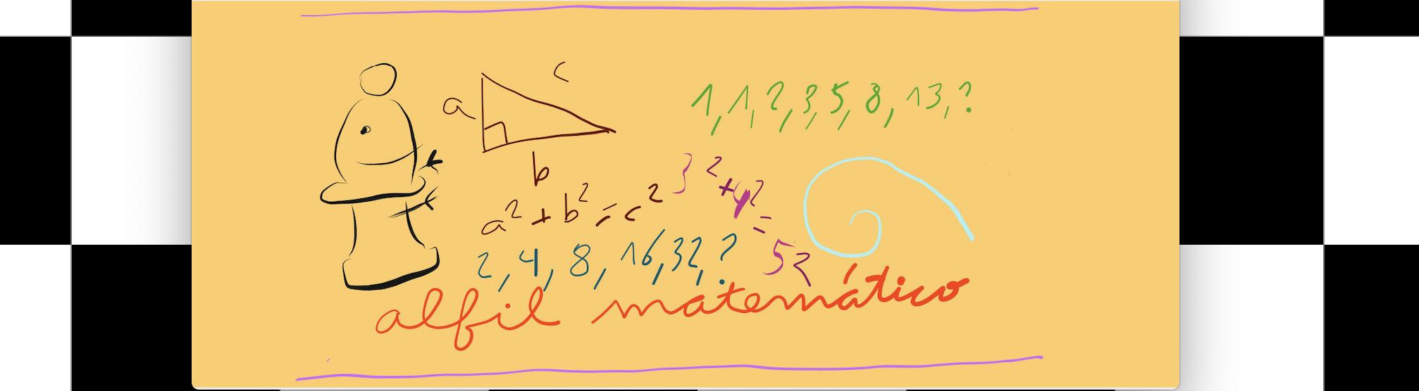 El alfil matemático