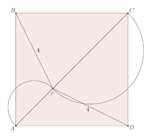 British flag theorem